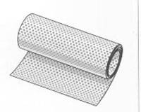 Aluminium Lochblechrolle blank 1000 x 0,70 mm
